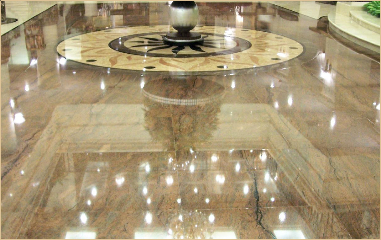 Keep Your Marble Tile Floor Clean To Maintain Its Beauty And Shine - Marble floor shiner